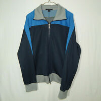 Banana Republic Full Zip Sweater Track Jacket Size MEDIUM Mens Clothing