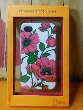 Kate Spade New York Premium Hard shell Case Pink Flower for iphone 4