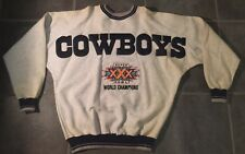 Dallas Cowboys SB 30 Stitch Sweatshirt By Legends