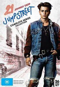 21 Jump Street - Complete Series 1-5 ( DVD ,26 Disc Box Set)  New! Region 4