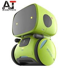 Smart Robots Dance Voice Command 3 Languages Versions Touch Control Cute Toys