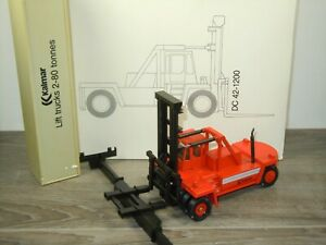 Forklift Truck Kalmar DC 42-1200 - Conrad 2999 Germany 1:50 in Box *50856