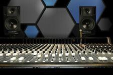 "Hexagonal Acoustic Foam 24"" X 24"" X 2"" Studio Sound Proofing / FIVE Packs OF 2"