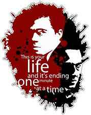 """This is your Life Fight Club Car Bumper Window Sticker Decal 4""""X5"""""""