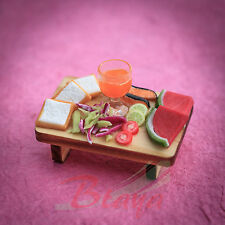Miniature Food Bread Bakery Breakfast Dollhouse Handmade Miniatures Supply F27