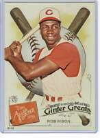 Frank Robinson 2019 Allen and Ginter Ginter Greats 5x7 #GG-36 /49 Reds