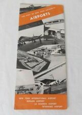 The Port of New York Authority Airports Brochure 1956