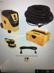 """Mirka Deros MID550-912-5  5"""" Electric Dust-Free Vac System Kit."""