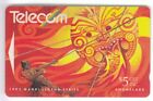 OCEANIE TELECARTE / PHONECARD .. NOUVELLE ZELANDE 5$ GPT 132B ART BD COMICS