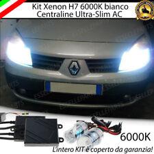 KIT XENON SLIM XENO H7 AC 6000K 35W RENAULT SCENIC 2 II ULTRALUMINOSI NO AVARIA