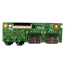 For ASUS  K53SD A53S X53S K53 K53SV IO USB Audio Jack Board 60-N3EIO1000-F01