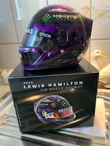 Lewis Hamilton Helm Helmet 1:2 Steiermark 2020 WM WIN Mercedes F1 **TOP&RAR**