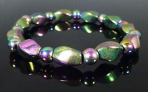 Rainbow Hematite Bracelet Tarnish