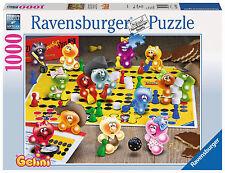 Ravensburger 19795-Juegos de noche en los Gelini, 1000 piezas puzzle, nuevo/en el embalaje original