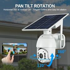 1080P Wireless WIFI 4G SIM Card Solar Powered Outdoor Security CCTV IP Camera