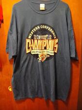 Oklahoma City Thunder 2012 Western Division Champions T Shirt 2XL Blue
