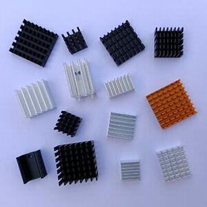 Aluminium Heat Sink IC Chip Heatsink Radiator Thermal Cooler Fin TO220
