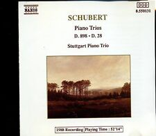 Naxos - Schubert / Piano Trios D.898 - D.28 - Stuttgart Piano Trio