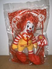 RONALD MCDONALD #4 TY TEENIE BEANIE MCDONALDS HAPPY MEAL TOY NIP 2009