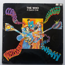 The Who - A Quick One / Sell Out 2x LP 1974 Track Records