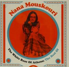 White Rose Of Athens: The Best Of - Nana Mouskouri (2014, CD NEUF)