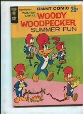 WOODY WOODPECKER SUMMER FUN #1 - GOLD KEY - (7.5) - 1960