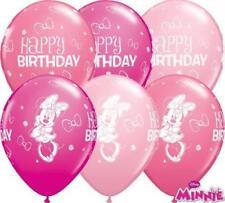 Globos de fiesta color principal rosa de Mickey Mouse