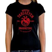 Camiseta Juego de tronos Game of thrones t shirt mujer woman  Targaryen