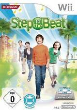 Nintendo Wii step to the Beat * Deutsch * como nuevo