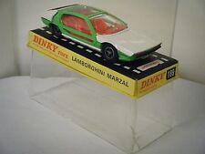 Dinky No: 189 «Lamborghini Marzal» - blanc/vert (Original 1960 / boîte)