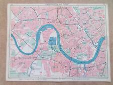 LONDON HAMMERSMITH PUTNEY EARLS COURT FULHAM WANDSWORTH 9inx7in DATE-1939