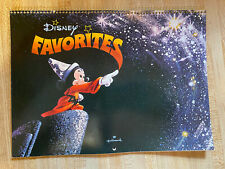 Vintage Hallmark Calendar Disney Favorites Mickey Mouse 1983
