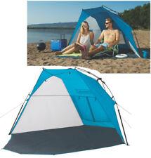 COLEMAN SHORELINE POP UP INSTANT BEACH TENT SHELTER UV GUARD SHADE