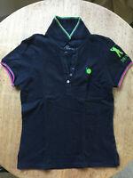 Poloshirt Golf  Polo Damen Größe XS Schwarz Kurzarm