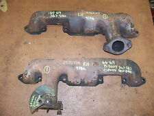 1965 66 67 68 69 DODGE PLYMOUTH EXHAUST MANIFOLDS #2463107 2532464 361 383 440