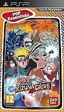 PSP Spiel Naruto Shippuden: Kizuna Drive Essentials Version NEU