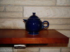 Fiesta Large Teapot in Cobalt  NEW Never Used Fiestaware