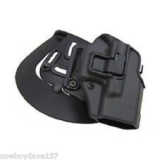 BlackHawk CQC Serpa Holster Glock 42 410567BK-L Left Handed Matte Black Finish