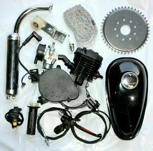 80CC Motorized Push Bike Motorised Bicycle Petrol Gas Motor Engine kits 2 Stroke