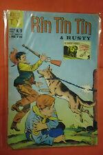 RINTINTIN E RUSTY -N°9- DA L.100- SERIE TV- DEL 1969 -ED.CENISIO- (rin tin tin)