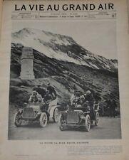 la vie au grand air, revue sportive illustrée, année 1903