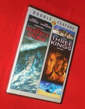 BRAND NEW George Clooney WS Double Feature The Perfect Storm Three Kings 2 DVDs