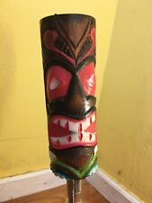 Face Paint Wood BEER TAP HANDLE NEW COLLECTIBLE USA ANTIQUE Vintage Art