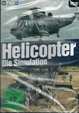 Pc cd-rom + Helicopter + la simulation + vol moteur + inserts + win 8