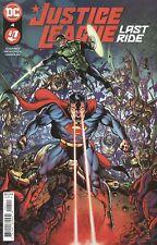 Justice League Last Ride #4 Cover A Darick Robertson Vf/Nm Dc Hohc 2021