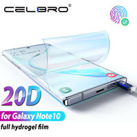 Hydrogel Screen Protector Film For Samsung Galaxy Note 10 Plus Protective Guard
