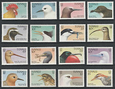 Tuvalu 3692 - 1988 BIRDS complete set of 16 unmounted mint