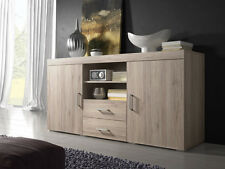 Sideboard Mambo 164cm 2 Doors 2 Drawers Light Oak Sonoma