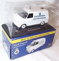 Ford Transit Met Police 1-43 Scale New in box best of british police cars