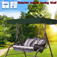 Outdoor Swing Canopy Cloth Garden Patio Bench Hammock Top Cover Replacement *